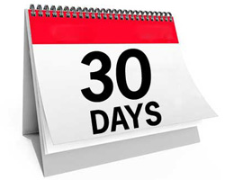 No Long Term telephone contracts - 30 days